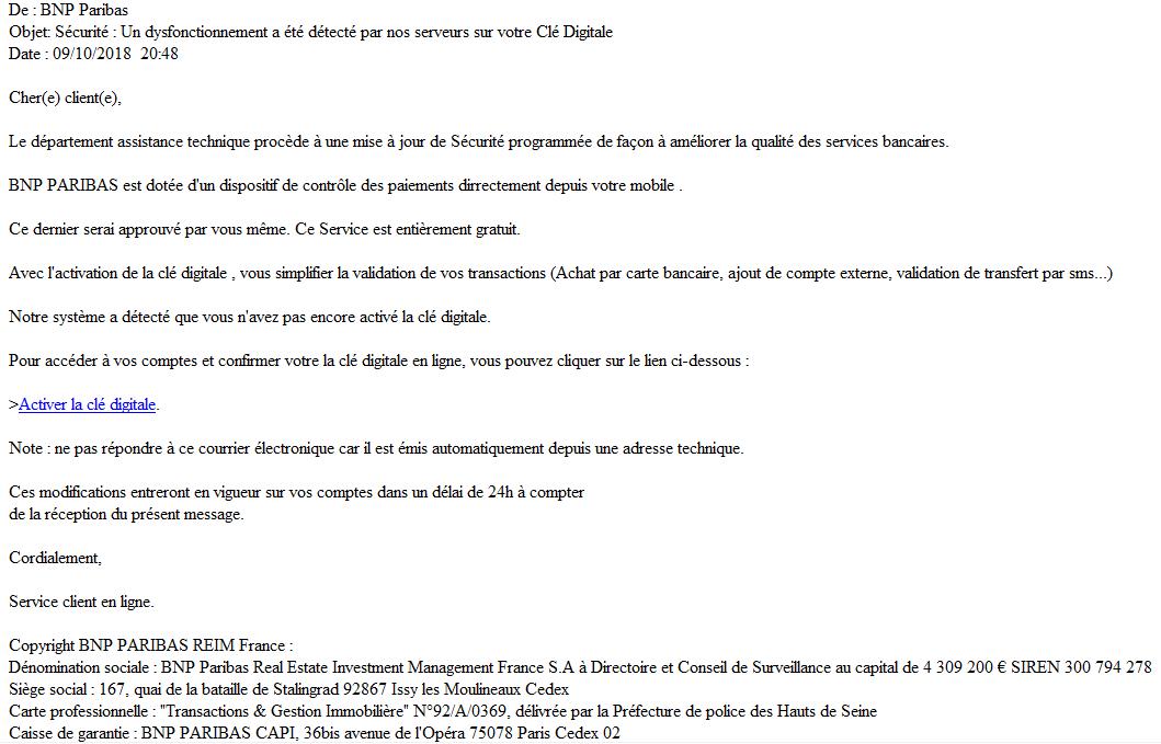 Regles De Securite Du Site Bnp Paribas