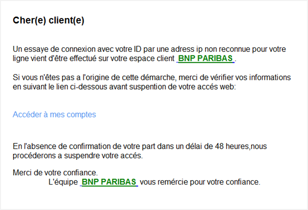 Regles De Securite Du Site Bnp Paribas